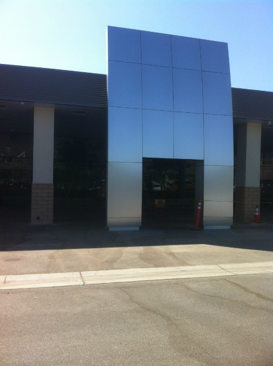 Jim Burke Ford Bakersfield >> Composite Panels Systems - Four C's Construction