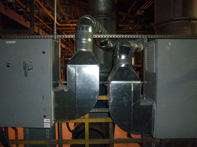 Industrial Cooling Duct : Industrial commercial facilities