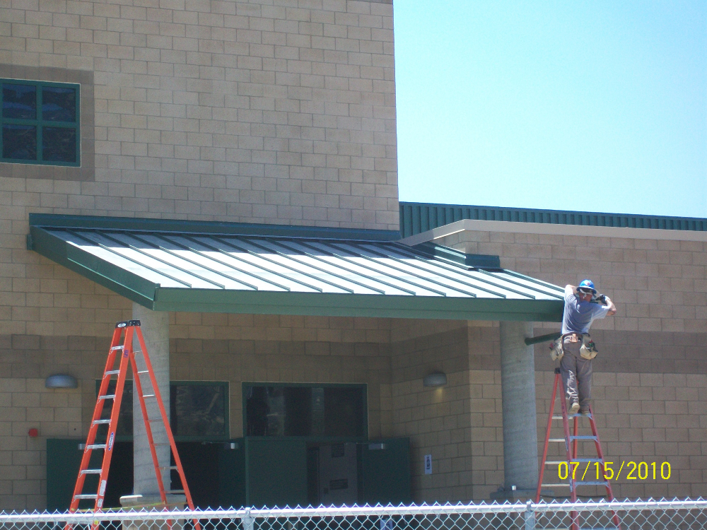 Metal Roofs Commercial Four C S Construction
