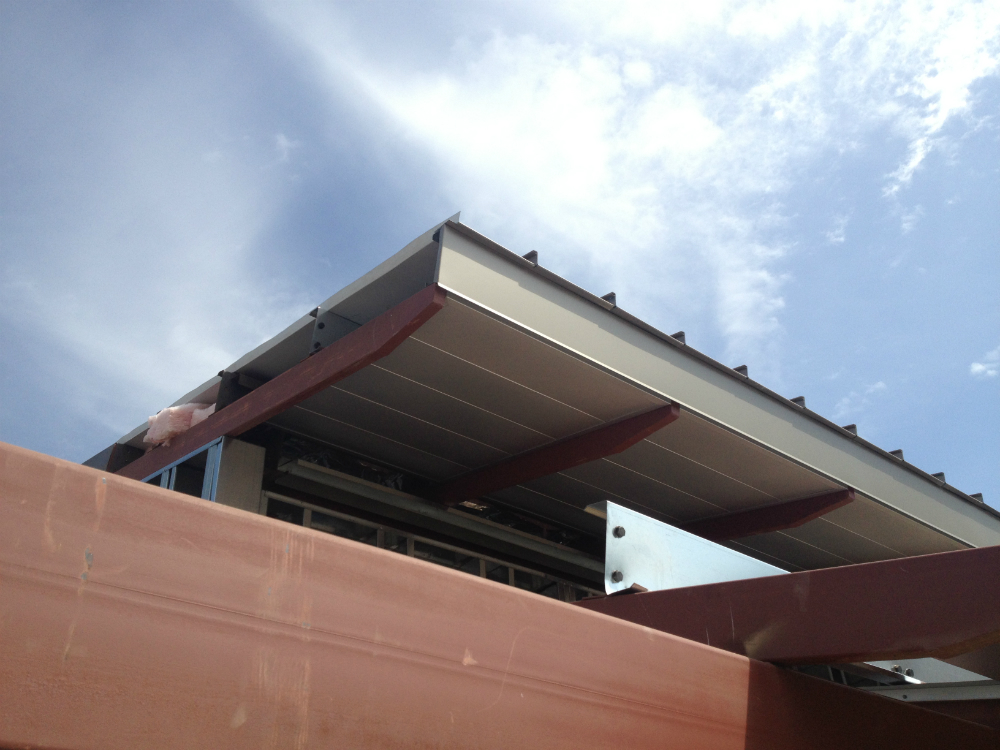 Architectural Metal Panels Ceiling : Soffit ceiling panel systems